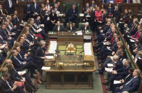 Vereséget szenvedett a brit kormány egy jelképes jelentõségû parlamenti szavazáson