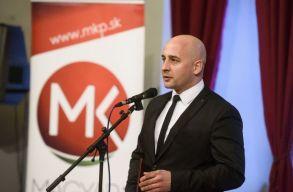 A Magyar Közösség Pártjának jelöltje nem indul a szlovák elnökválasztáson