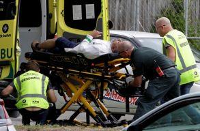 Két mecsetnél lövöldöztek Új-Zélandon, 49 ember meghalt