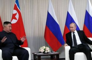 Találkozott egymással Kim Dzsong Un és Vlagyimir Putyin