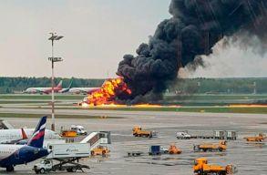 Legalább 41-en meghaltak, miután kigyulladt egy utasszállító repülõgép Moszkvában