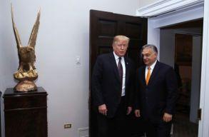 Trump szerint Orbán jó munkát végez az országa biztonságának megõrzésében