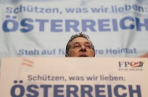 Ausztriában kirobbant az év politikai botránya