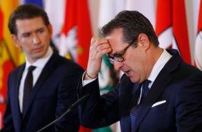 A botrány miatt felbomlott az osztrák kormánykoalíció, új választásokat írnak ki
