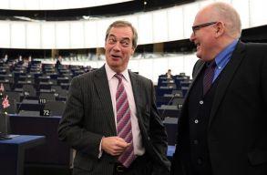 Exit poll: Hollandiában Timmemans, az Egyesült Királyságban Farage pártja nyerhette az EP-választásokat