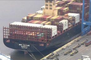Philadelphia kikötõjében 16 tonnányi kokaint koboztak el
