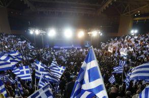 A jobboldal gyõzött a görög parlamenti választásokon