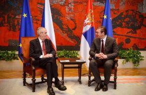 A cseh elnök felülvizsgálná Koszovó függetlenségének cseh elismerését