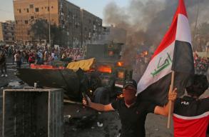 Legalább harminc halálos áldozata van a kedd óta tartó iraki tüntetéseknek