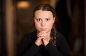 Greta Thunberg bábut akasztottak fel Rómában