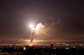 Többen meghaltak Izrael éjszakai légicsapásaiban Szíriában