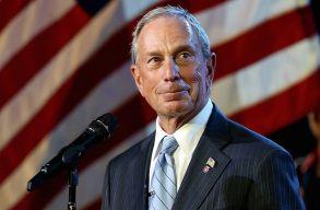 Michael Bloomberg indul a 2020-as amerikai elnökválasztáson