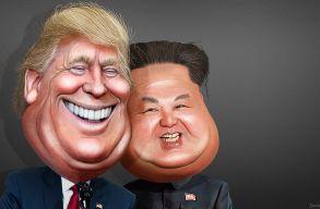 Trump: az észak-koreai vezetõ mindent elveszíthet, ha ellenséges