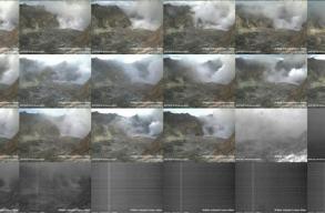Turisták tartózkodtak a kráter peremén belül, amikor kitört egy vulkán Új-Zélandon