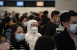 Hongkongtól Sanghajon át Pekingig kifogytak a szájmaszk készletek a gyógyszertárakban