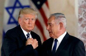 Trump kitalálta, hogyan rendezné a palesztin-izraeli konfliktust