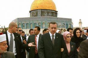 Erdogan arra szólította fel a keresztényeket, hogy álljanak ki Jeruzsálemért
