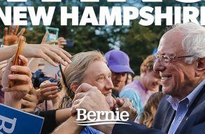 Amerikai elõválasztás - Bernie Sanders nyert New Hampshire-ben