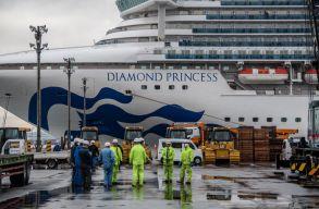 Az EU támogatja a Japánban karanténban lévõ Diamond Princess európai utasainak hazahozatalát