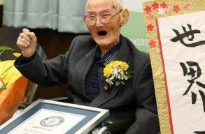 Száztizenkét éves korában elhunyt a világ legidõsebb férfija