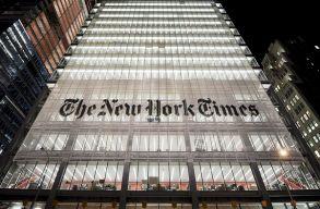 Trump kampánycsapata pert indít a The New York Times ellen rágalmazás miatt