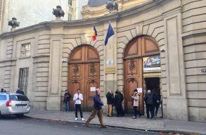 Pozitív lett a koronavírustesztje Románia párizsi nagykövetsége hét alkalmazottjának