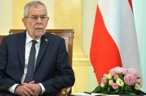 Az osztrák elnök megszegte a kijárási korlátozásokat
