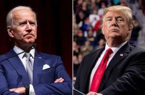 Joe Biden lekreténezte Donald Trumpot