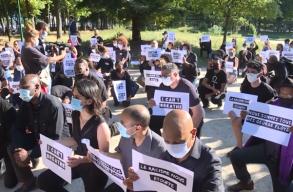 Több mint 20 ezren tüntettek Párizsban a rendõri erõszak ellen