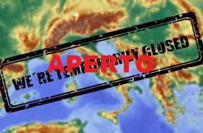 A belsõ és külsõ határok is megnyíltak Olaszországban