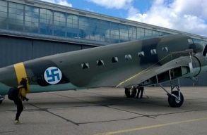 A finn légierõ parancsnoksága végleg búcsút intett a szvasztikának