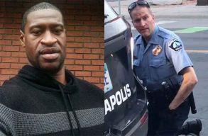 Óvadék ellenében szabadlábra helyezték azt a rendõrt, akinek intézkedése közben meghalt Floyd