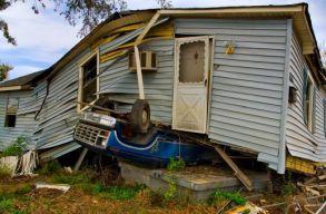 Lecsapott Amerikára, Louisiana államra az Ida hurrikán