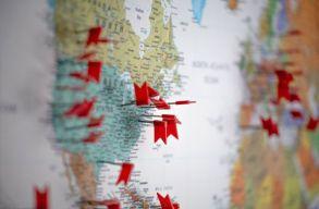 Megvan az új lista: Románia, a Moldovai Köztársaság és Bulgária is piros zónás