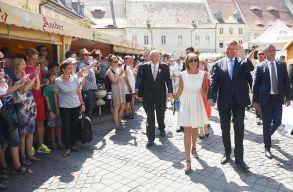 Klaus Johannis részt vett az erdélyi szászok találkozóján
