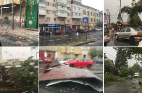 36 millió lejt utalnak ki 10 megyének a vihar okozta károk helyreállítására