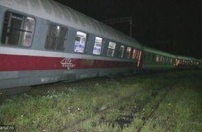 Kisiklott a Iași és Temesvár között közlekedõ gyorsvonat Dés mellett
