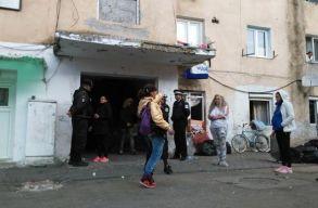 Közel hatvan roma családot lakoltattak ki erõszakkal Gyulafehérváron