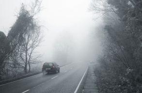 Ködre kell számítani Erdély nyolc megyéjében