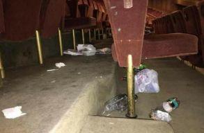 Szemét és cigicsikkek ásványvizes palackban; ezt hagyták maguk után a PSD-sek szombaton