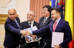 Aláírta Arad, Kolozsvár, Nagyvárad és Temesvár polgármestere a Nyugati Szövetség alapító okiratát