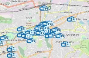 Ingyenes internet-hozzáférést biztosítanak Kolozsvár legforgalmasabb részein