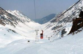 Szeben megye magas hegyvidékein 4-es fokozatú a lavinaveszély
