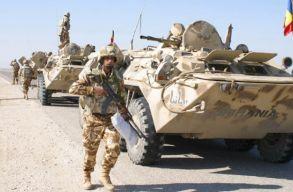 Megsebesült Afganisztánban négy román katona
