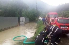 Beszterce-Naszód megyében 13 települést öntött el az ár