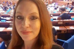 Az úz-völgyi eseményekkel kapcsolatosan szólalt fel Benkõ Erika az Európa Tanácsban