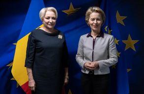 Ursula von der Leyennel folytatott megbeszélést Brüsszelben a miniszterelnök