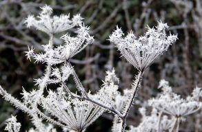 Jövõ hét közepétõl fagy és hóharmat várható a hegyvidéki medencékben