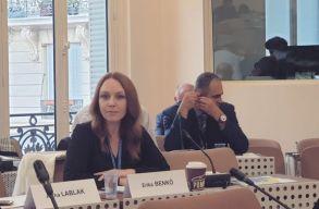 A Trianon napját nemzeti ünnepé tévõ törvénytervezet ellen is felszólalt Benkõ Erika az Európa Tanácsban