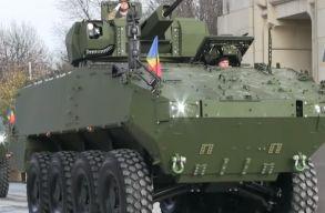 Még az idén három újabb Piranha 5 típusú páncélozott csapatszállító érkezik Romániába